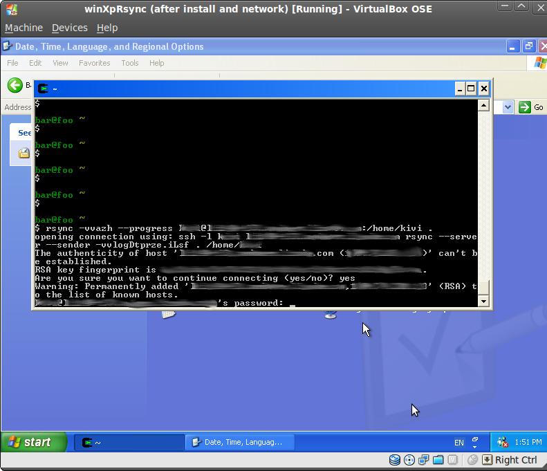 Rsync from Windows