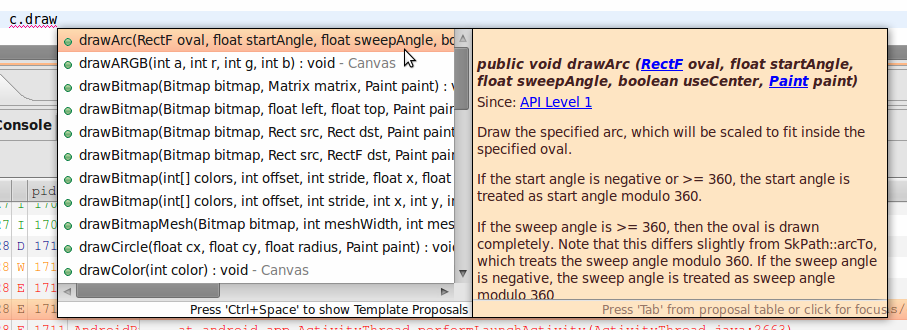 how to draw on canvas android