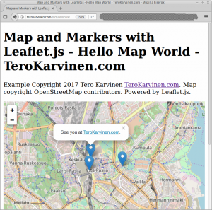 Interactive map on your web page with markers leafletjs and create an interactive map on your gumiabroncs Image collections
